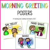 Morning greetings poster