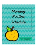 Morning routine schedule