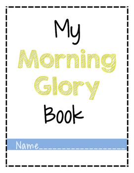Morning work/ I'm Finished Folder
