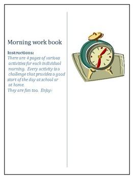 Morning work book 3
