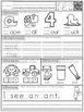 Mornings Made Easy! Kindergarten Morning Work by Tweet Resources BUNDLE
