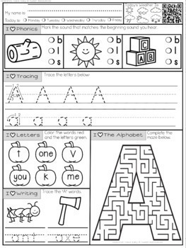 Mornings Made Easy First Grade Morning Work by Tweet t