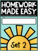 Mornings Made Easy Set Two! First Grade Morning Work By Tweet Resources