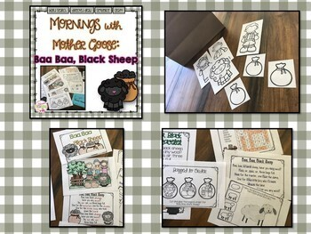 Morning Work with Mother Goose: 10 Nursery Rhyme Bundle