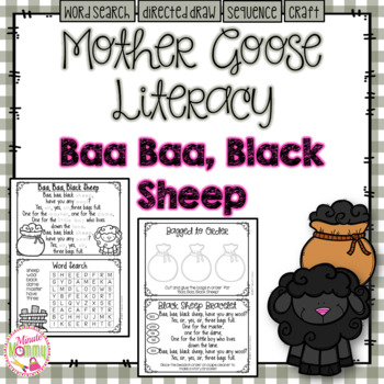 Baa Baa Black Sheep Craft Teaching Resources Teachers Pay Teachers