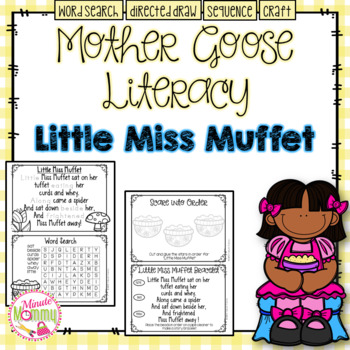 Morning Work with Mother Goose: Little Miss Muffet