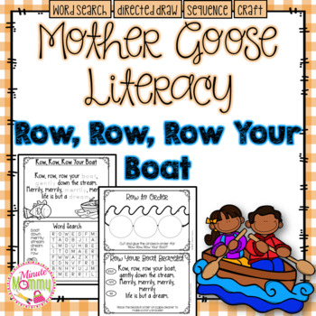 Morning Work with Mother Goose: Row, Row, Row Your Boat