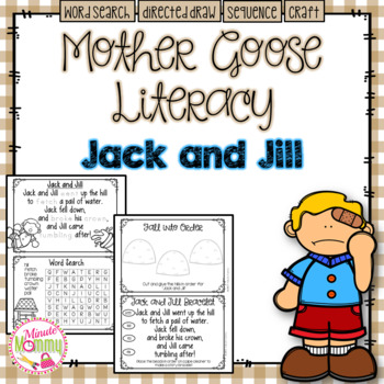 Morning Work with Mother Goose: Jack and Jill