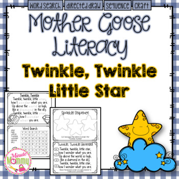 Morning Work with Mother Goose: Twinkle, Twinkle Little Star