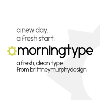 Morningtype Font for Commercial Use