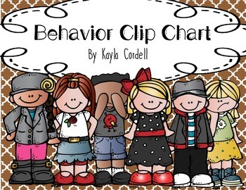 Behavior Clip Chart -- Moroccan