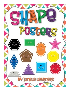 Shape Posters: Moroccan