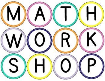 Moroccan Themed Classroom Math/Center Workshop Setup