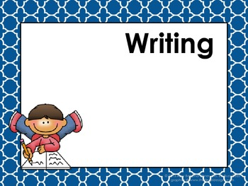 Moroccan Tile Daily Learning Targets Bulletin Board Sets