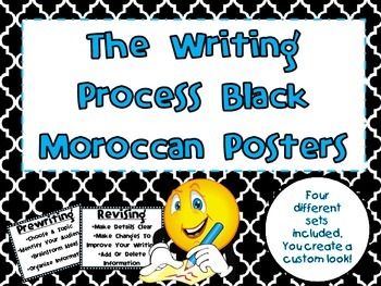 Moroccan Writing Process