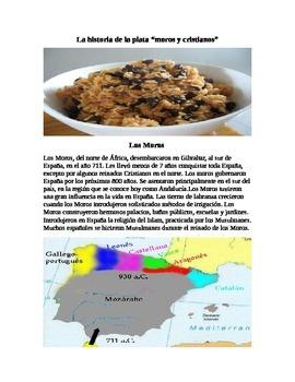 Moros y Crisitanos/ Arroz con frijoles negros- History of Rice and Beans