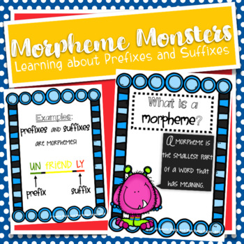 Morpheme Monsters: Resources for Learning About Prefixes a