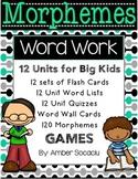 Morphemes Vocabulary Study