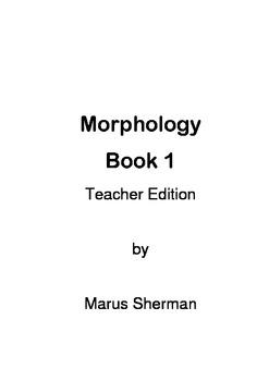 Morphology Book 1 Teacher Edition