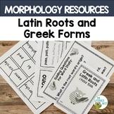 Morphology Greek Latin Roots | Orton Gillingham Activities