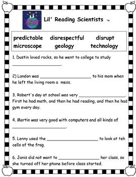 Morphology Kit (Prefixes, Root Words, Suffixes) (OG)