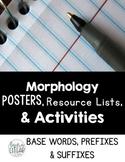 Morphology - Prefixes, Suffixes, and Base Words