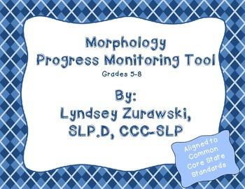 Morphology Progress Monitoring Tool
