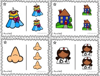 Morphology Ring-a-Lings: Plurals