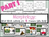 Morphology: Word Work & Reading Passages for 8 Common Lati
