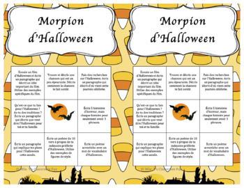 Morpion d'Halloween
