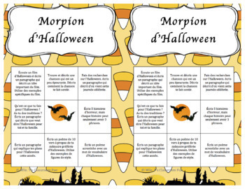 Morpion d'Halloween