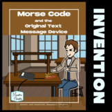 Morse Code Nonfiction Reading Resource and Activities Midd