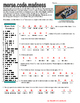 Literacy Skills:  Morse Code