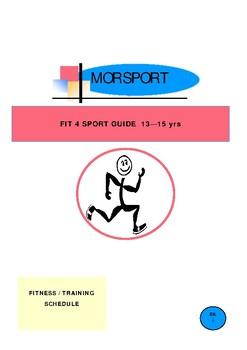 Fit-4-Sport. 13-15yrs.