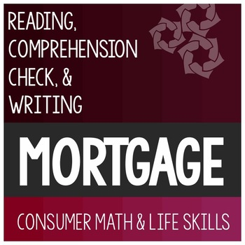 Mortgage Article- Consumer Math Special Education