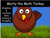 Morty the Math Turkey- Kindergarten Graphing