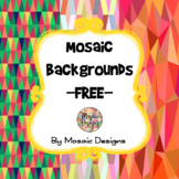 Mosaic Backgrounds - FREE