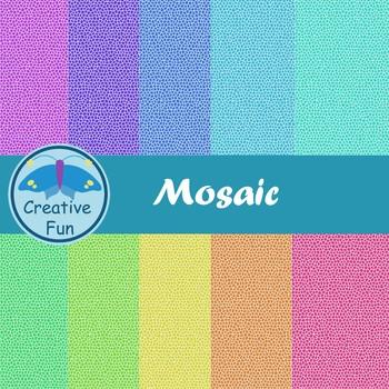 Mosaic Digital Paper