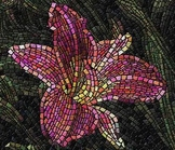 Mosaic Math: Relating Fraction, Decimals and Percents.