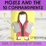 Moses 10 Commandments Activity