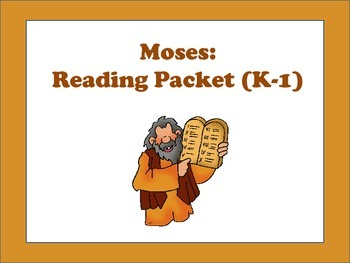 Christian Education: Moses: Literacy Centers