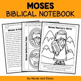 Moses Interactive Notebook Bible Unit