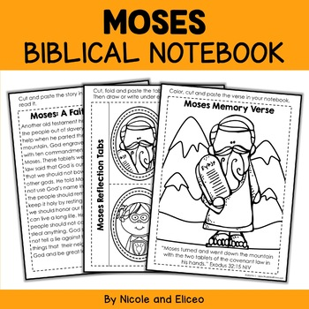 Bible Character Lessons - Moses