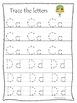 Moses A-Z Tracing Worksheets. Preschool Bible History Curriculum Studies Handwr.