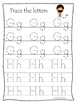 Moses A-Z Tracing Worksheets. Preschool Bible History Curr