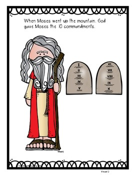 Moses Bible Lesson Part 6: The 10 Commandments(All About Series)