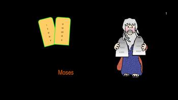 Moses:  Bible Story Activities (The Ten Plagues)