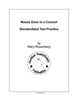 Moses Goes to a Concert Standardized Test Practice