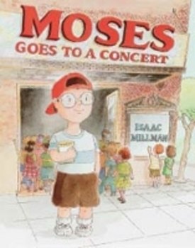 Moses Goes to a Concert, lesson plan and activity guide {Houghton Mifflin}