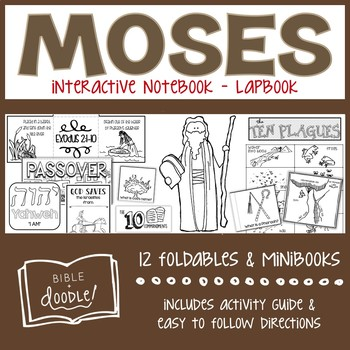 Moses Interactive Notebook/Lapbook (K-6)